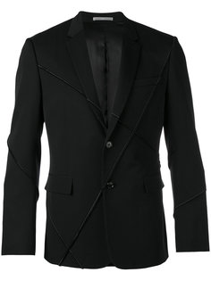 ribbed detail casual blazer Dior Homme