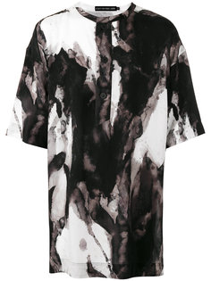 abstract print oversized T-shirt Issey Miyake Men