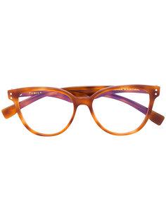 cat eye glasses Family Affair