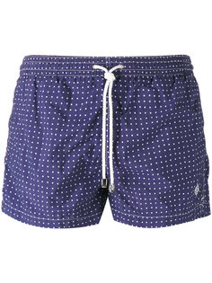 dotted shorts Borrelli