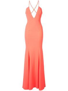 вечернее платье с V-образным вырезом Jay Godfrey