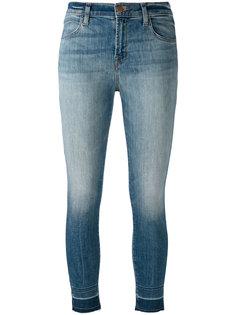 джинсы скинни с потертой отделкой J Brand