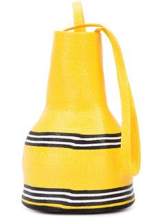 соломенная сумка на плечо Rosie Assoulin