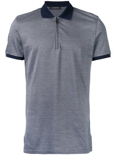 zip-up polo shirt Ermenegildo Zegna