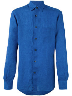 long sleeve chambray shirt Ermenegildo Zegna