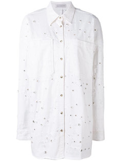 джинсовая рубашка с потертостями  Faith Connexion