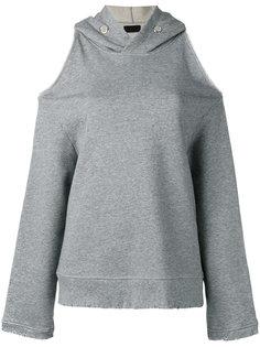 cold shoulder hoodie  Rta