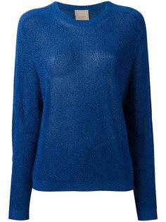 свитер с длинными рукавами и эффектом металлик Laneus