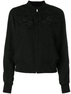 куртка-бомбер с вышивкой  Comme Des Garçons Noir Kei Ninomiya