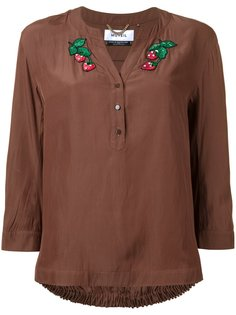 блузка с нашивками Muveil