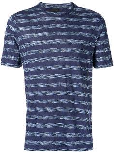 woven stripe T-shirt  Z Zegna
