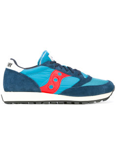 lateral patch lace-up sneakers Saucony