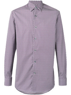 hexagon print long sleeve shirt Ermenegildo Zegna