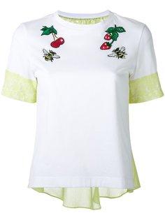 футболка с нашивками Muveil