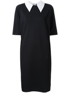 платье с кружевом на воротнике Muveil
