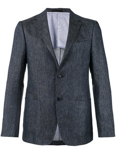 two-button chambray jacket Z Zegna