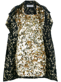 sequined cape dress Gianluca Capannolo