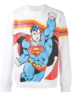 Superman print sweatshirt Iceberg