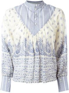 блузка с узором Sea