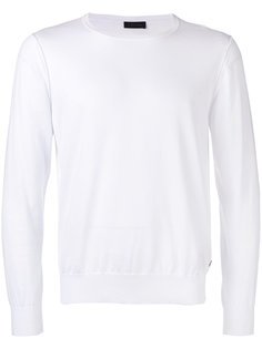 long sleeve crew neck sweater Z Zegna