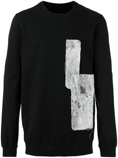 patched sweatshirt  Army Of Me