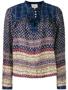 patterned blouse Sea