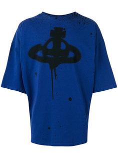 мешковатая футболка с логотипом Vivienne Westwood Anglomania