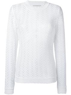 свитер с узором Marco De Vincenzo