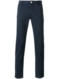 slim-fit trousers Barba