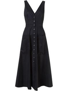 длинное платье с V-образным вырезом Zoey  Saloni