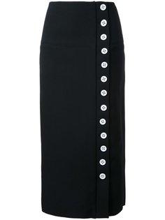 юбка на пуговицах Christopher Esber