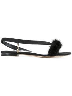 open-front sandals Olgana