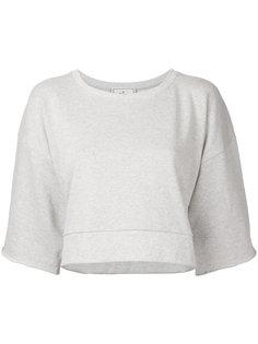half sleeve cropped sweatshirt  Maison Mihara Yasuhiro