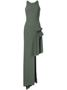 платье с асимметричным подолом A.F.Vandevorst