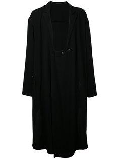slouched coat Yohji Yamamoto