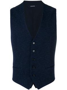 weave waistcoat Tagliatore