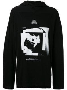printed hoodie Julius