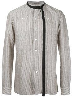 полосатая рубашка Raf Simons