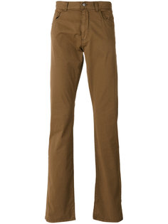 slim-fit trousers Canali