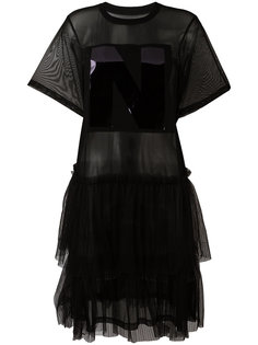 sheer T-shirt dress Nicopanda