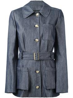 куртка с поясом Lanvin