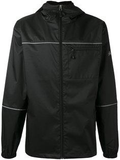 logo print lightweight jacket Stussy