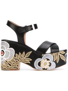 Helissa shiny sandals Laurence Dacade