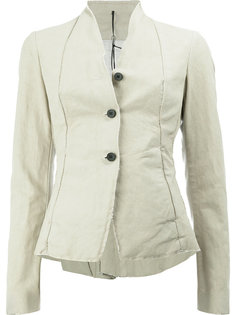 button front fitted jacket Masnada
