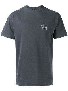 logo print T-shirt Stussy