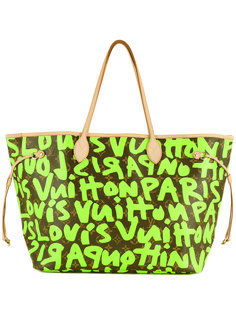 сумка Graffiti Neverfull GM Louis Vuitton Vintage