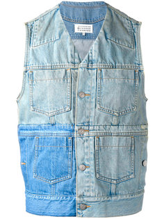 лоскутная джинсовая жилетка Maison Margiela