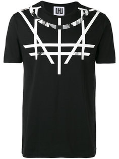 футболка с принтом Les Hommes Urban