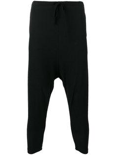 спортивные брюки с заниженным шаговым швом  Forme Dexpression