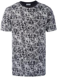 graphic line detail T-shirt Dior Homme